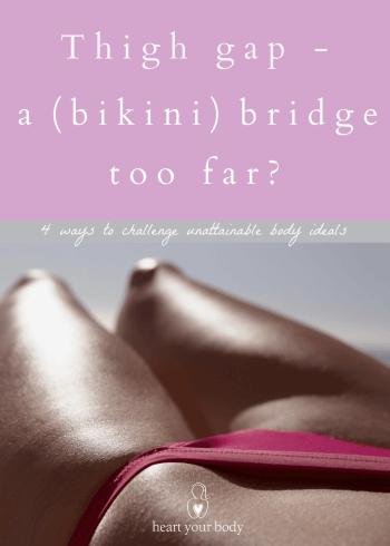 Thigh gap a bikini bridge too far